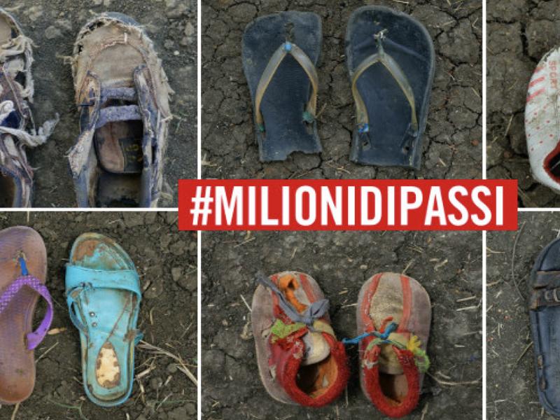 #milionidipassi
