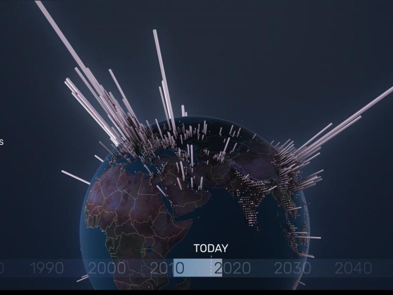 Breve storia animata delle emissioni di CO2
